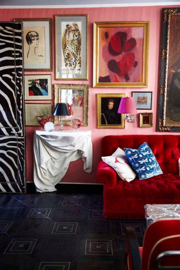 New York home designed by Miles Redd