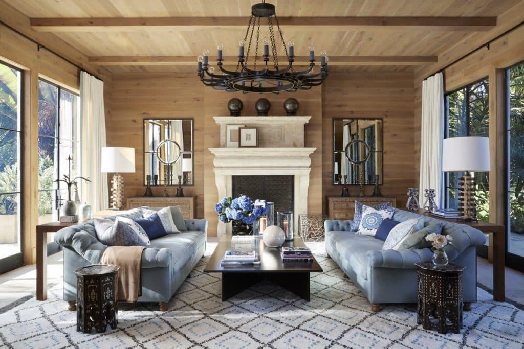 living room by Martyn Lawrence Bullard