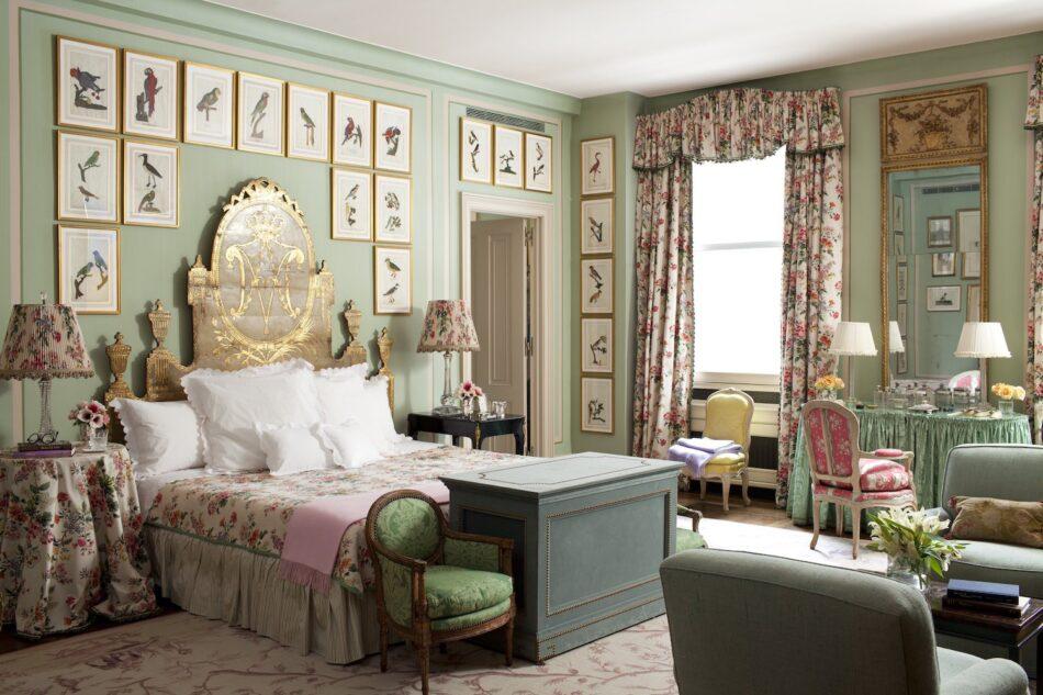 A New York City bedroom designed by Brockschmidt & Coleman