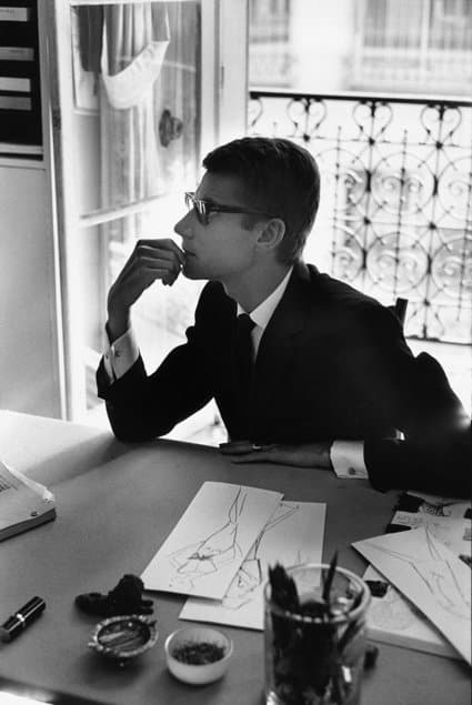 Yves Saint-Laurent, France, 1964, by Marc Riboud