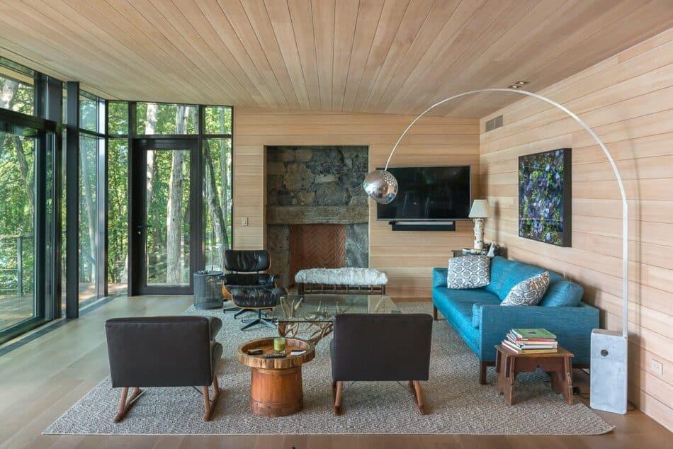 Vermont Getaway by Charlotte Barnes Interior Design