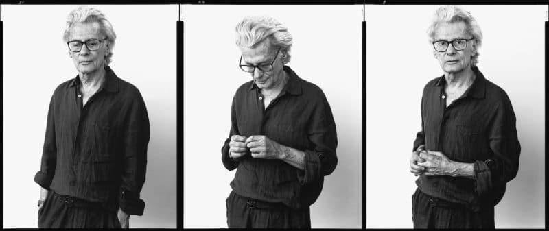 Richard Avedon, photographer, New York City, May 31, 2002