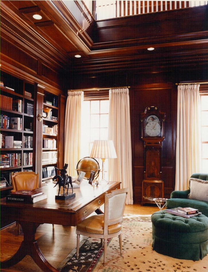 Maryland home office by Brown Davis  Interiors, Inc.