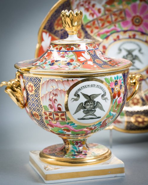 Flight, Barr & Barr Worcester Porcelain 90-piece set, ca. 1815
