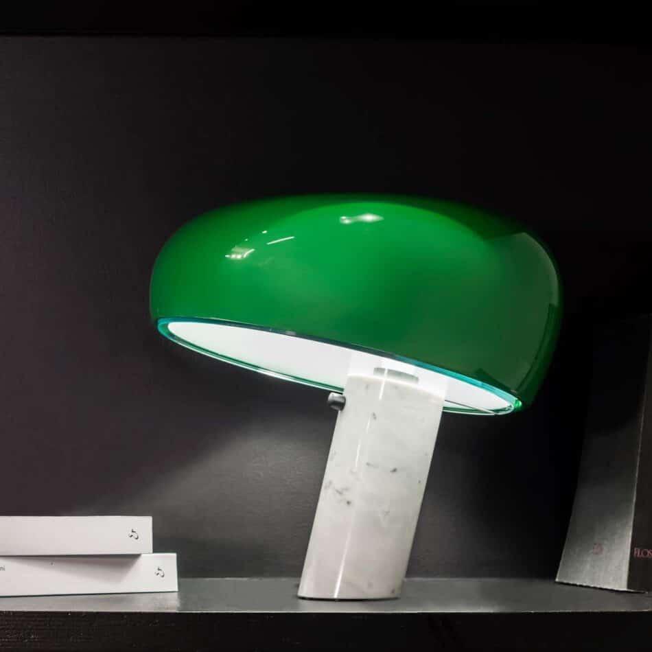 Achille and Pier Giacomo Castiglioni Snoopy Lamp for FLOS