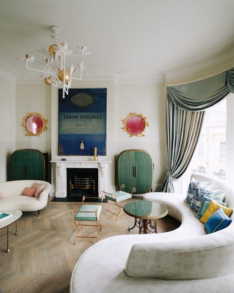 Marc de Berny living room