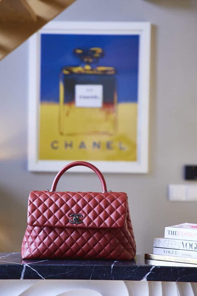 Punk Chanel handbag