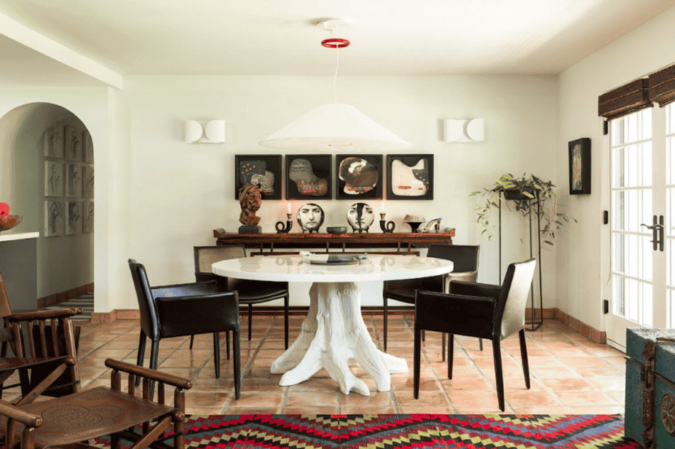 dining area by Sam Cardella
