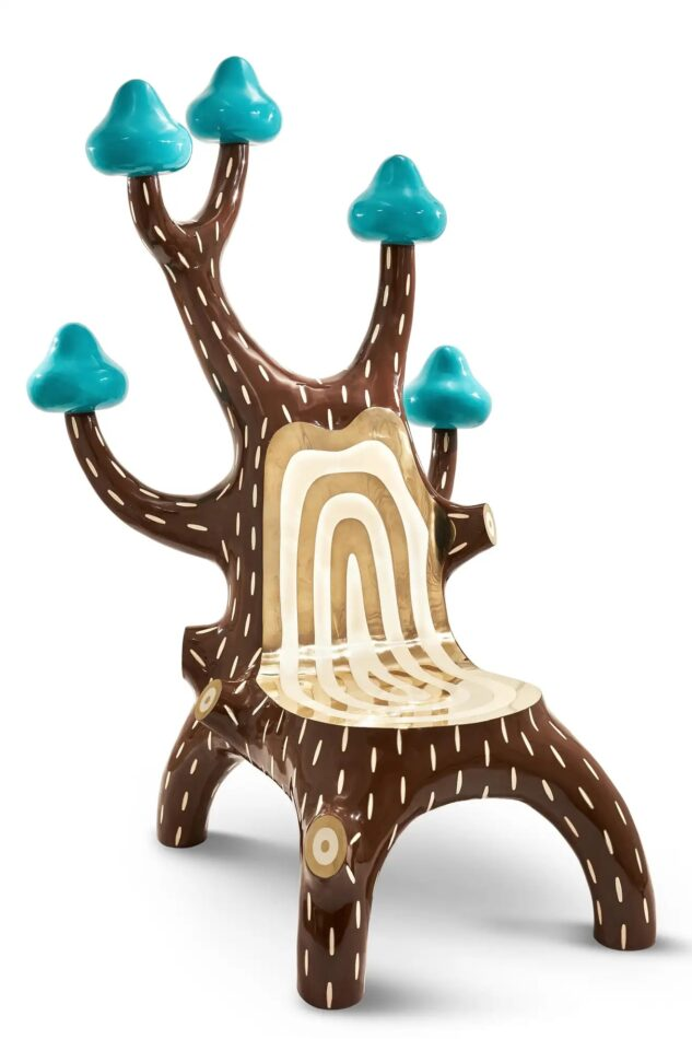 Marcantonio Forest Lounge Chair