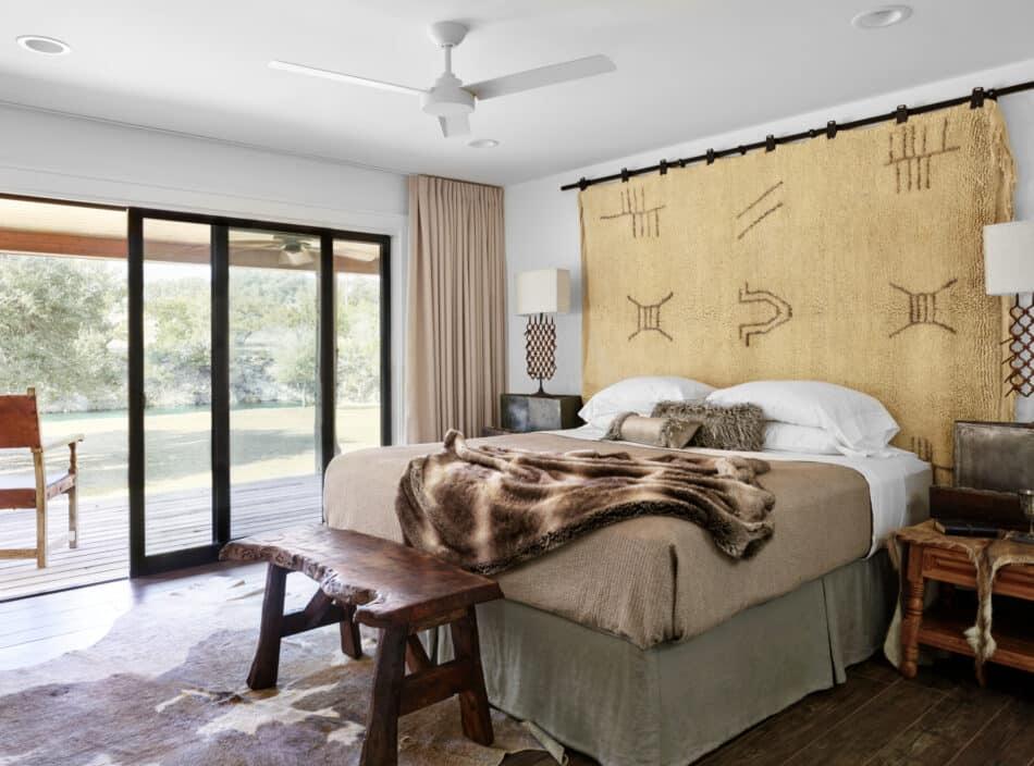 Autumn Mohon bedroom in Texas