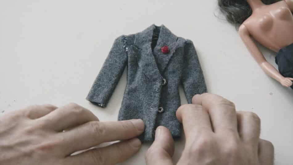 Martin Margiela doll clothing