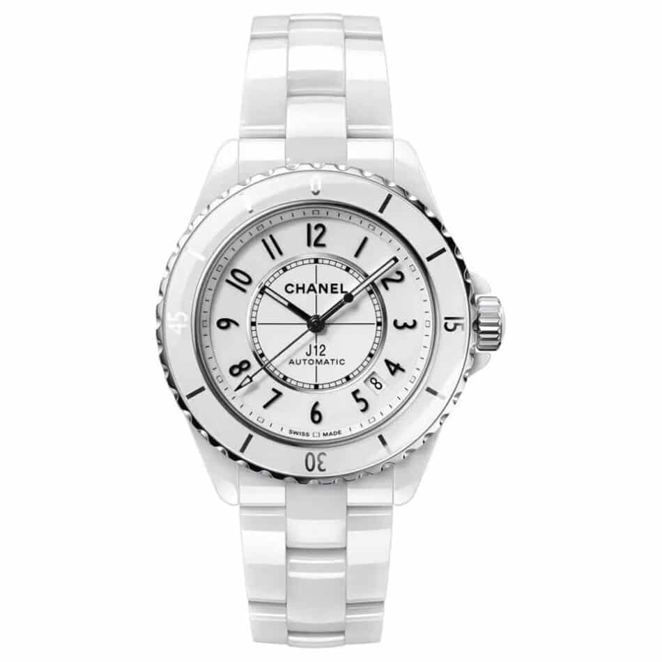 Chanel J12 white-dial watch, 2020, offered by Signature of Time