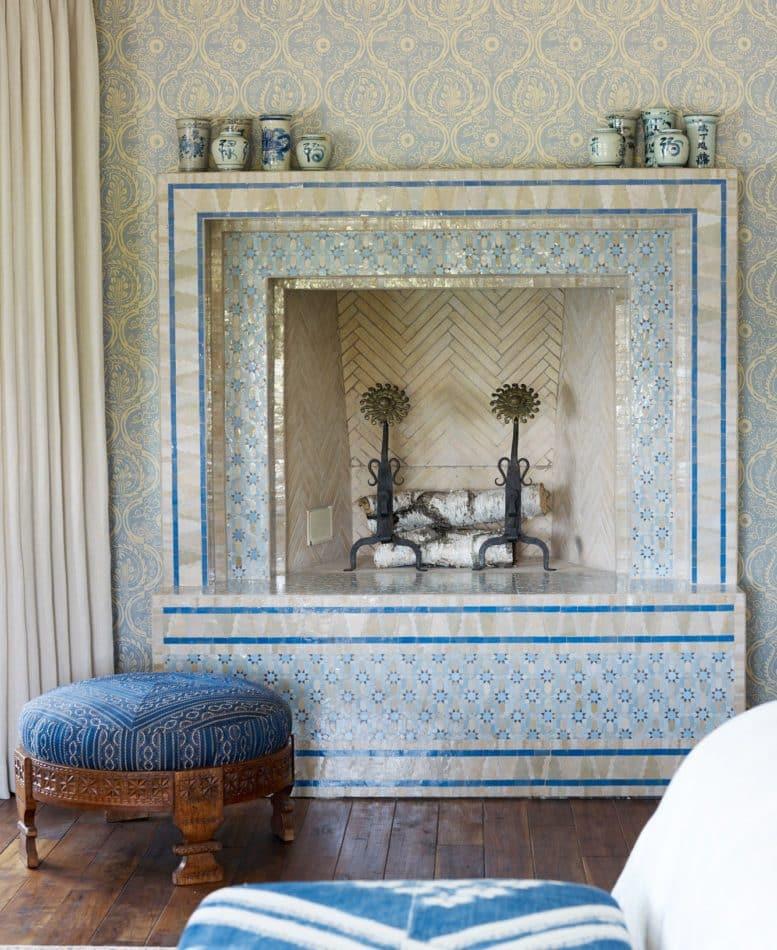 blue bedroom by Soucie Horner