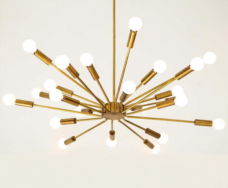 Gino Sarfatti's Sputnik chandelier