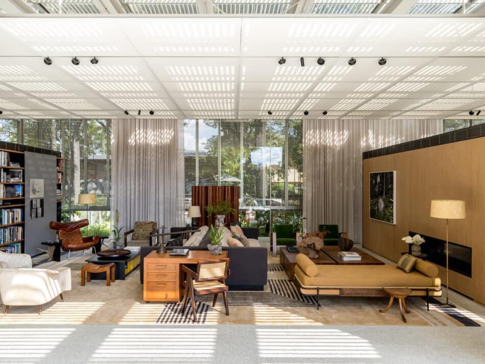 São Paulo living room by Studio Mellone