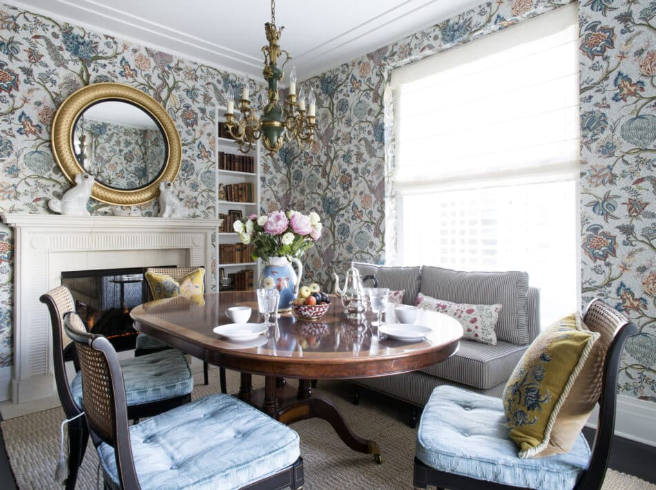 Dining room in Chicago by Summer Thornton