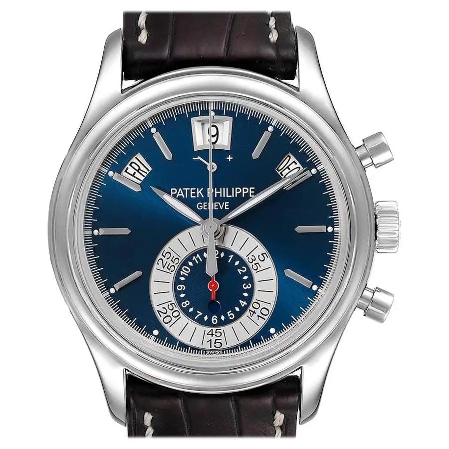 Patek Philippe Complications Annual Calendar White Gold Watch