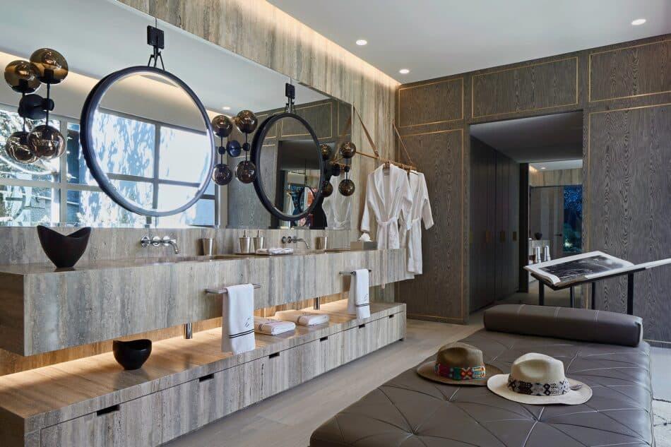 Massage-Ready Master Bath by Sofia Aspe