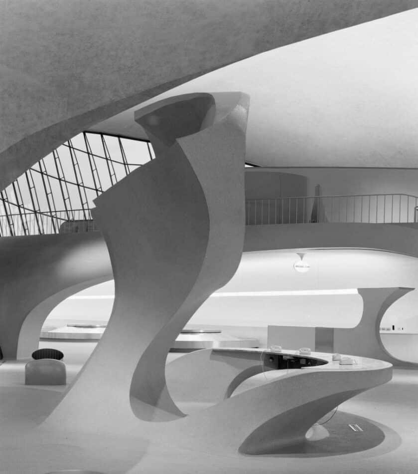 TWA Terminal, 1962, by Ezra Stoller