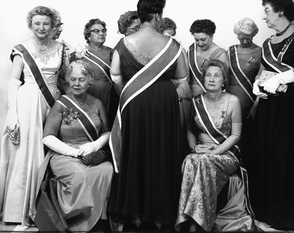 The Generals of the Daughters of the American Revolution, DAR Convention, Mayflower Hotel, Washington, D.C., October 15, 1963, by Richard Avedon