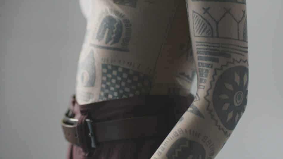 Martin Margiela tattoo top