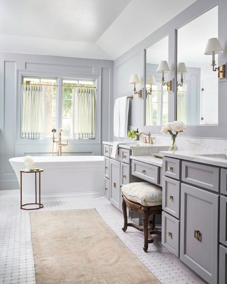 Bathroom by Tori Rubinson Interiors in Fort Worth, TX
