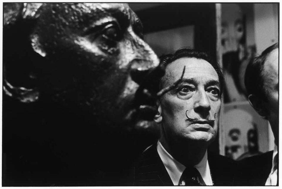 Portrait of Salvador Dalí, 1963, by Elliott Erwitt