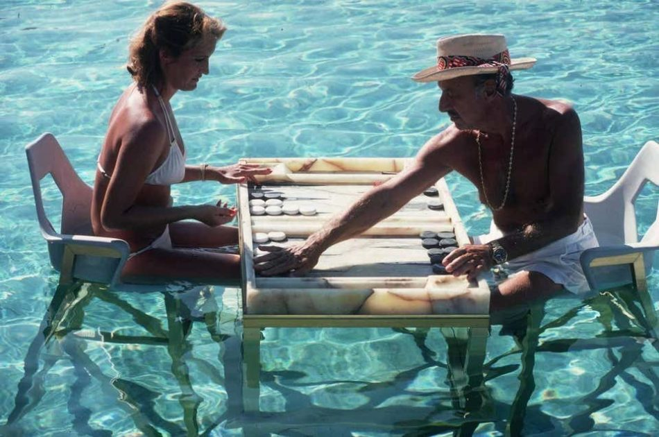 Keep Your Cool, by Slim Aarons, 1978