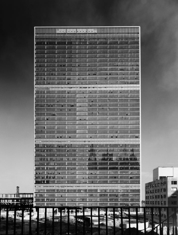 United Nations, 1950, by Ezra Stoller