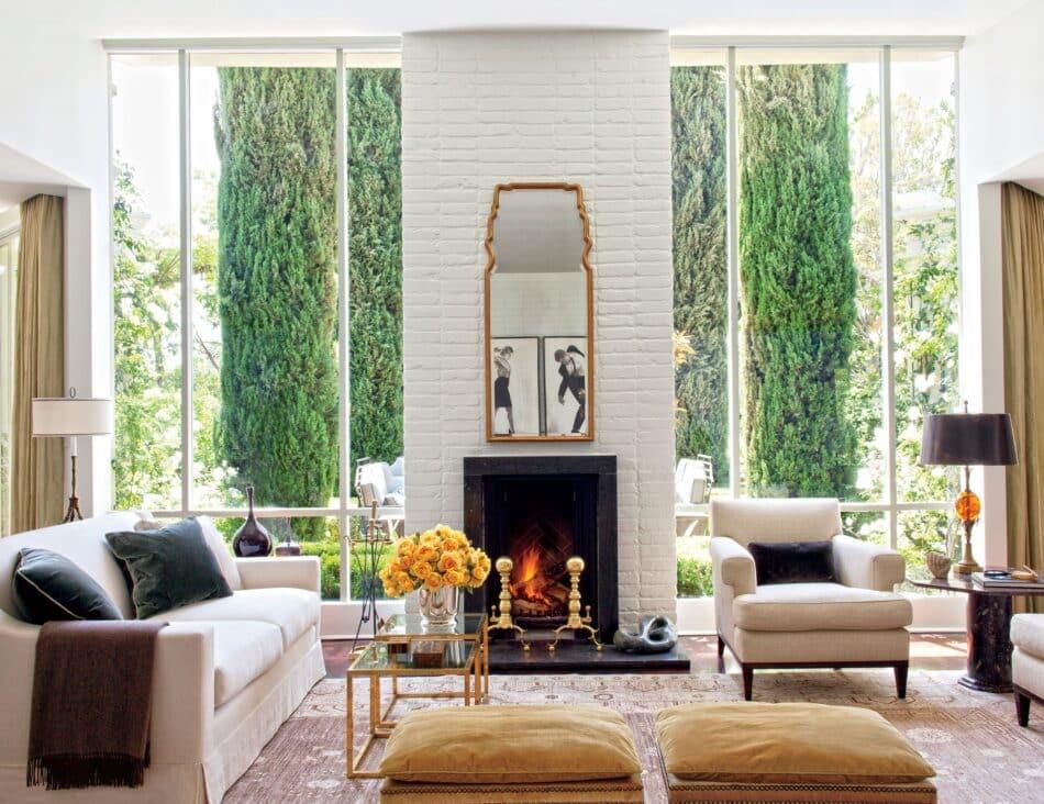 Madeline Stuart living room in L.A.
