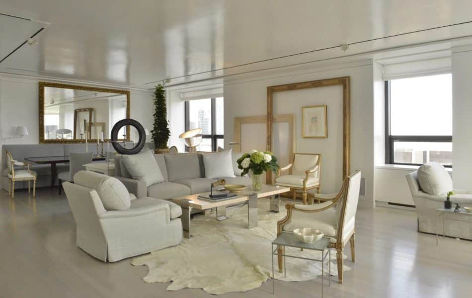 living room by Vicente Wolf