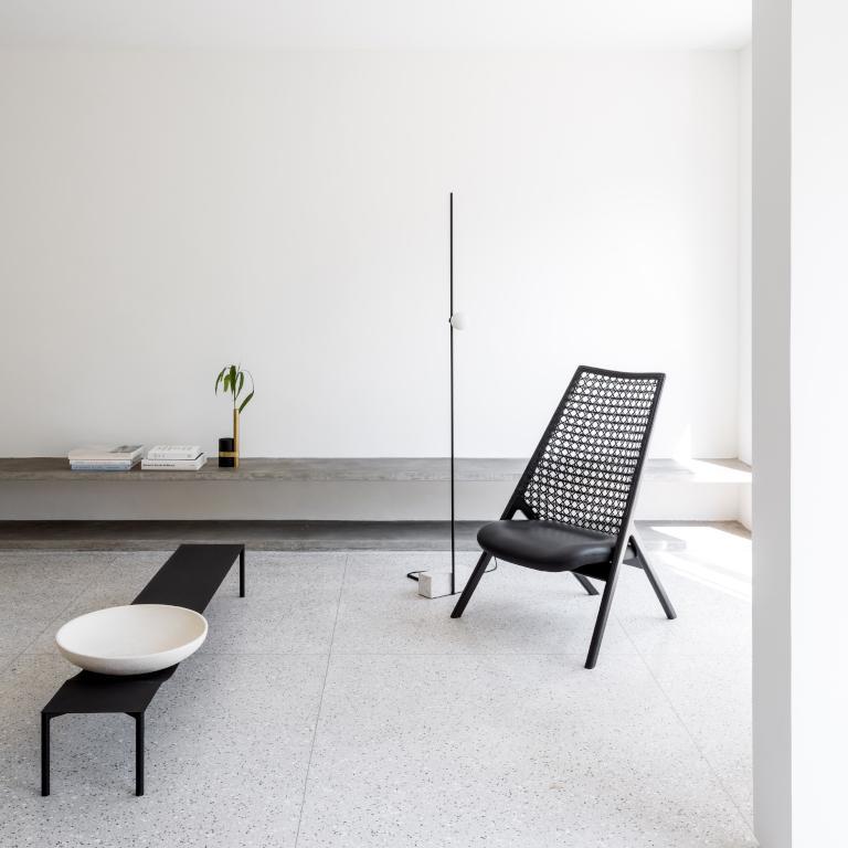 Guilherme Wentz's Tela Lounge Chair