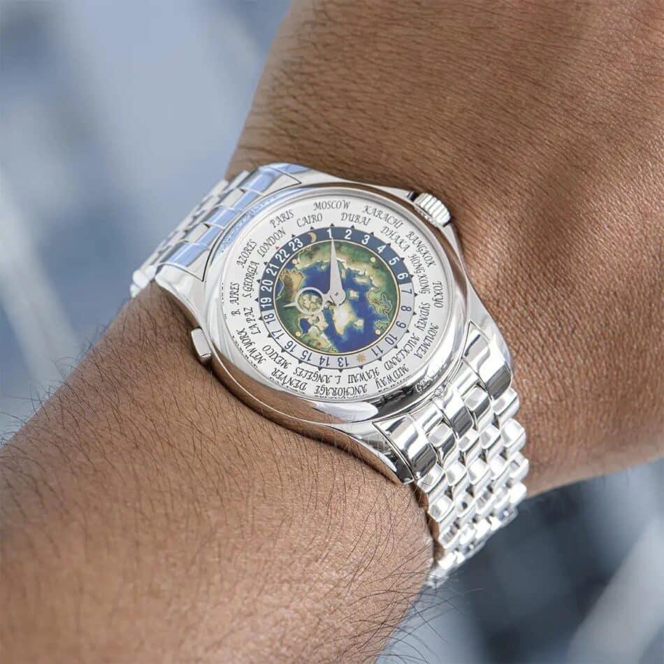Patek Philippe Platinum Complications World Time Watch