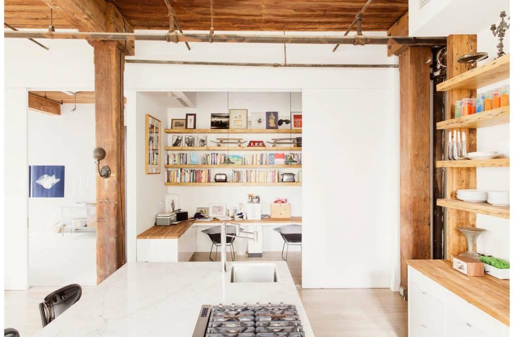 loft kitchen by Elizabeth Roberts