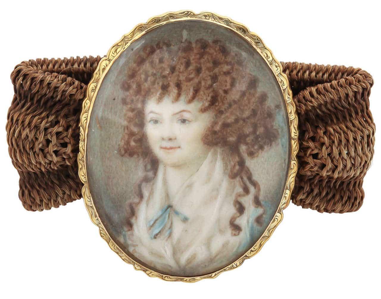 Miniature Portrait Bracelet