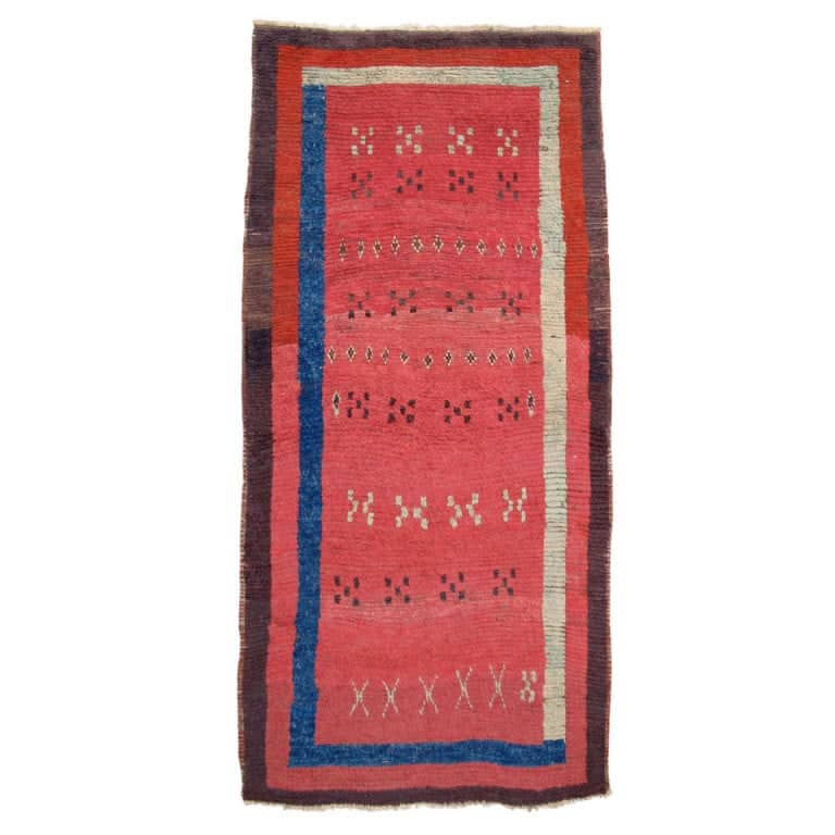 Turkish Anatolian rug from the mid-19th century