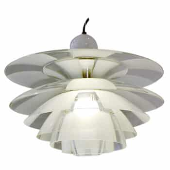 Septima chandelier by Poul Henningsen.