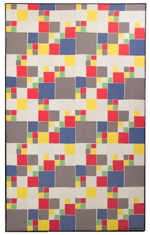 Abstraction Geometrique, ca. 1960, by Sonia Delaunay