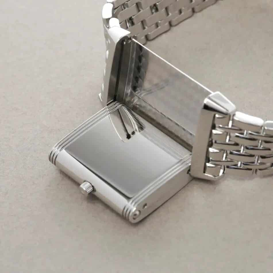 Jaeger-LeCoultre Reverso Classique unisex stainless-steel watch, 2000s, offered by Xupes