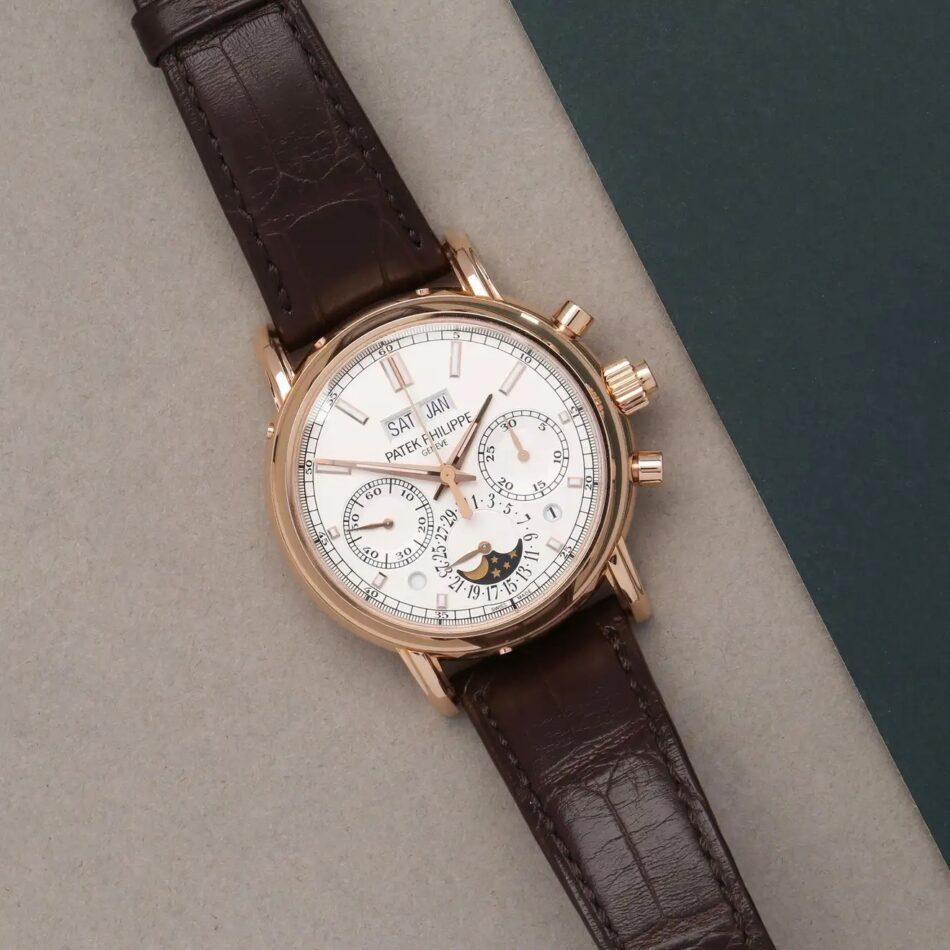 Patek Philippe Complications Rose-Gold Chronograph 5204R