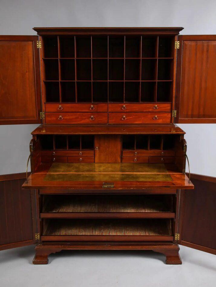 Thomas Chippendale Paxton House mahogany secretary, 1775