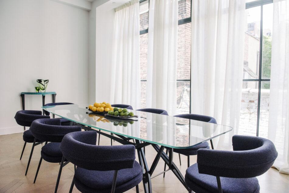 Dining room at Zanotta House