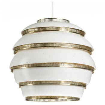 Beehive ceiling light by Alvar Aalto.