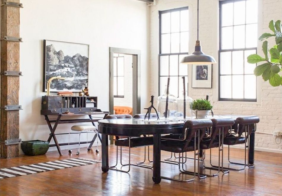 L.A. Dining room by Hammer & Spear