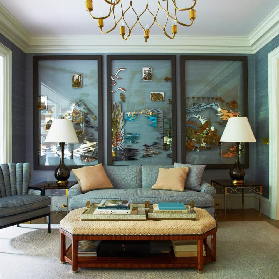 Living room by SR Gambrel in the West Village