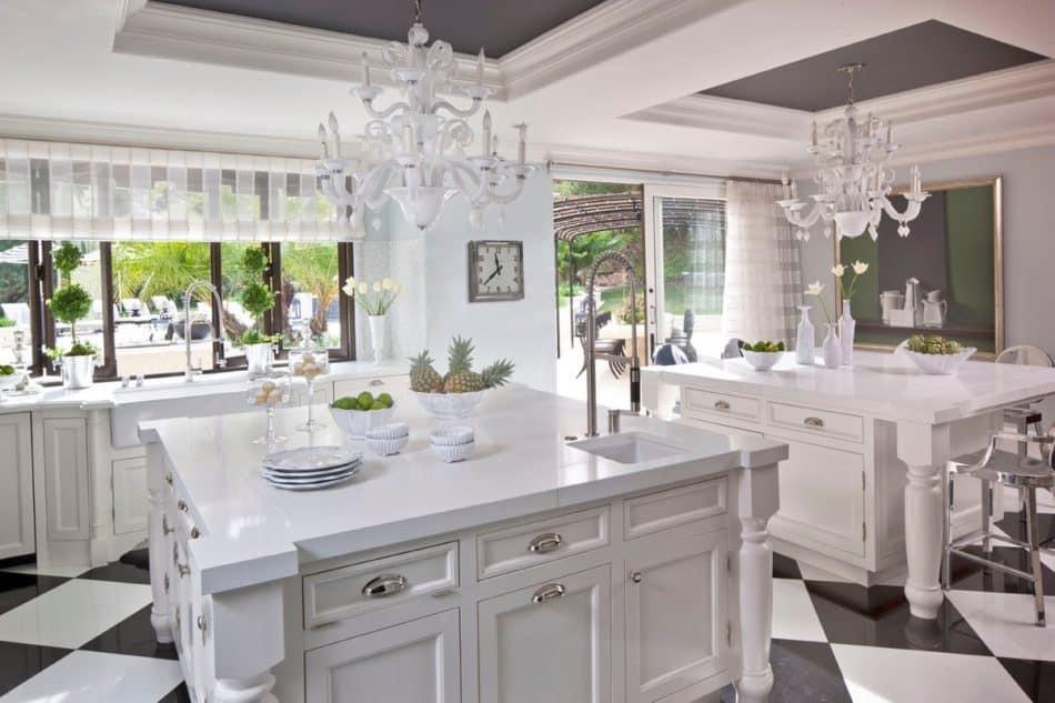 Jeff Andrews Hollywood kitchen