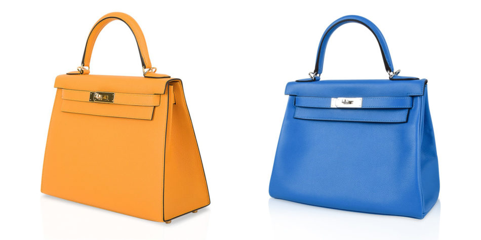 Hermès Kelly Sellier 28 bag and Kelly Retourne 28 bag
