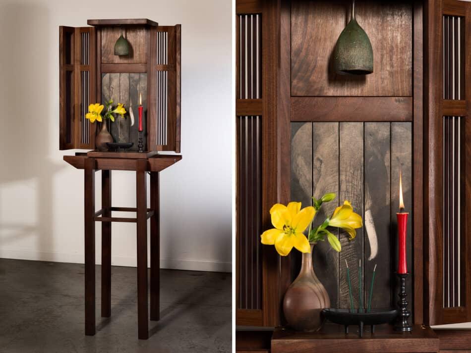 Bell Shrine by Wendy Maruyama.
