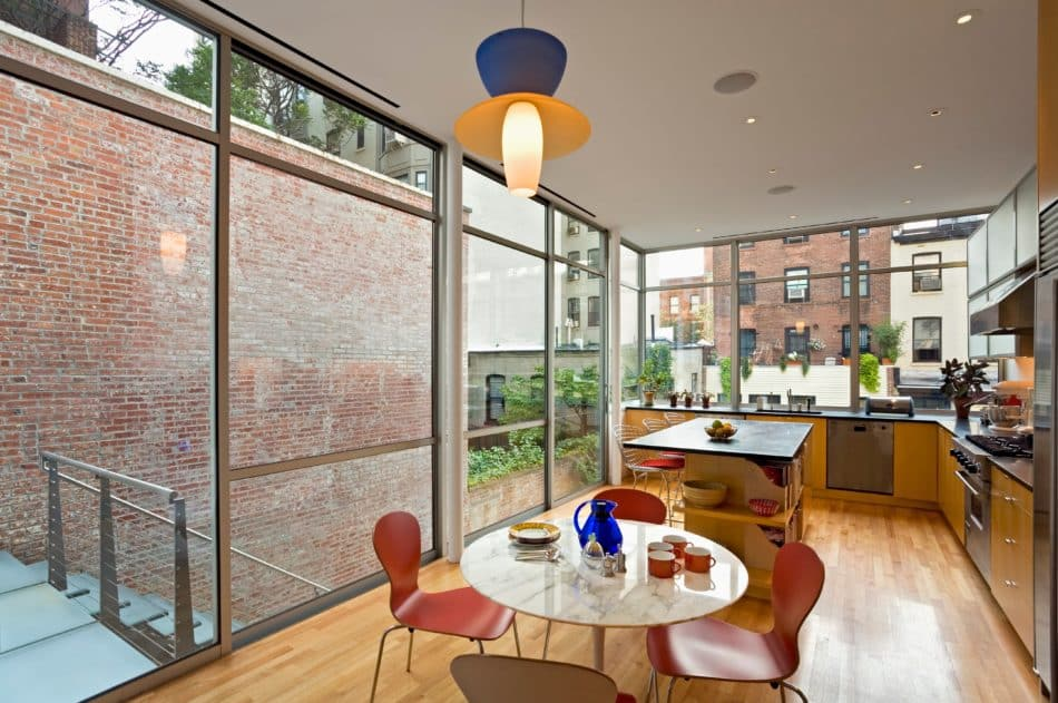 Brooklyn Heights townhouse by 1100 Architect