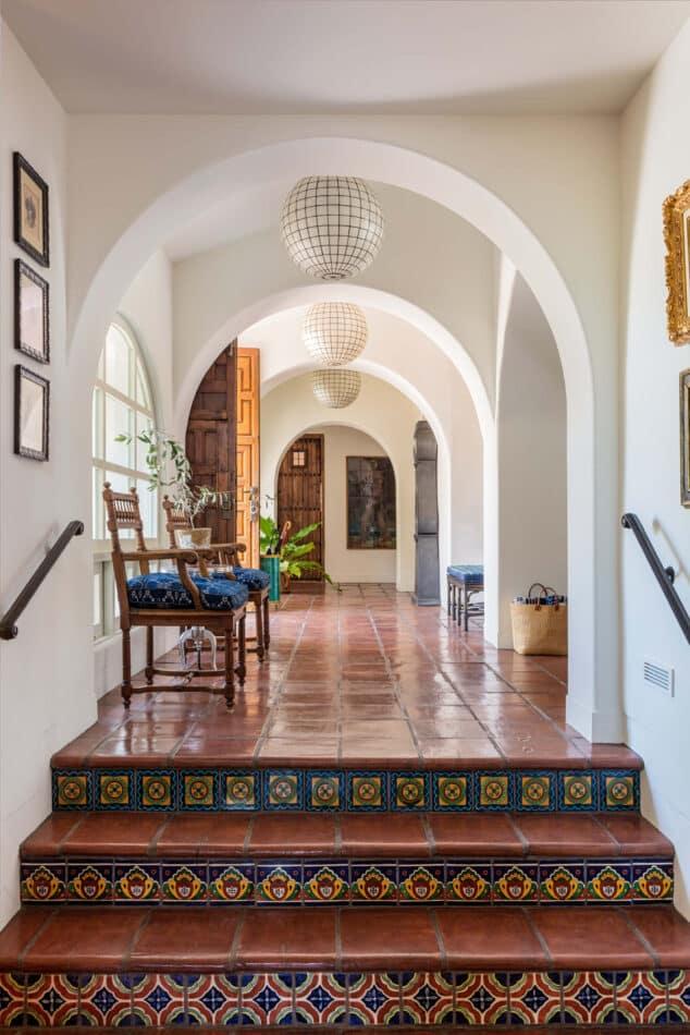Rancho Santa Fe, California foyer by Sean Leffers